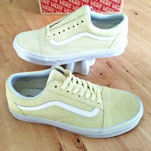 Vans Shoes - Vans Old Skool Suede in Tender Yellow 95bad4d60